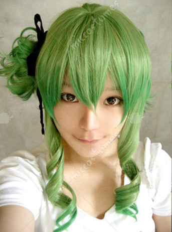 Vocaloid Gumi Megpoid Cosplay Wig