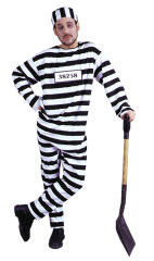 Convict Extra Large Adult Costume