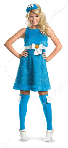 Sesame Street-Cookie Monster Sassy Costume