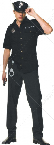 Cop Male Adult Costume