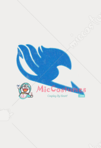 Fairy Tail Wendy Marvell Cosplay Tattoo Sticker