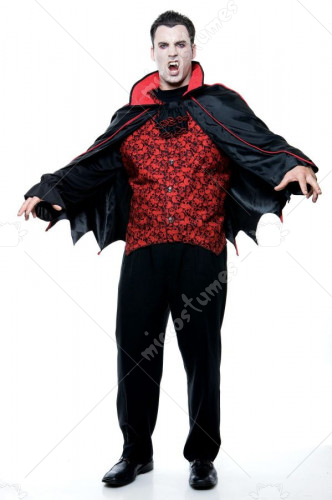 Count Men Adult Costume