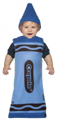 Crayola Infant Blue Costume