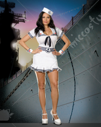 Cruise Cutie Adult Plus Costume