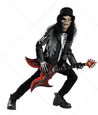 Cryptic Rocker Child Costume