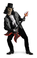 Cryptic Rocker Standard Size Adult Costume