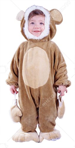 Cuddly Monkey Toddler Costume