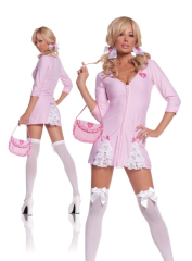 Cute Kandi Striper Adult Costume