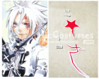 D.Grayman Allen Walker Cosplay Tatoo Sticker