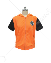 Dragon Ball Z Son summer short sleeves Hoodie Jacket