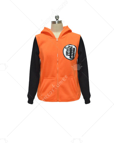 Dragon Ball Z Son Goku Winter Long Sleeves Hoodie Jacket