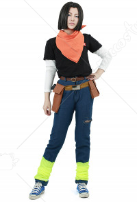 Cosplay Costume de Android 17 dans Dragon Ball