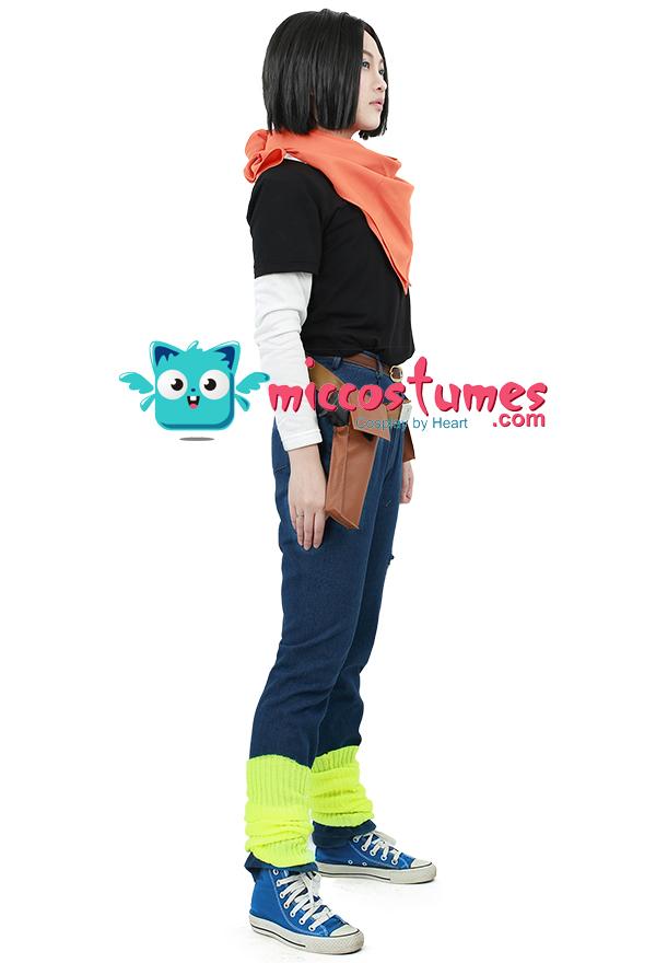 Dragon Ball Android 17 Cosplay Kostüme