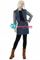 Cosplay Costume de Android 18 dans Dragon Ball