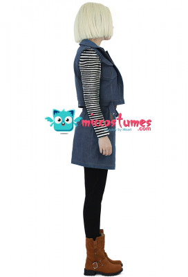 Dragon Ball Android 18 Cosplay Costume