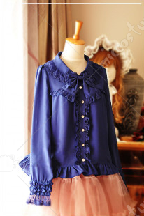 Dear Celine Lolita Blouse Three Colors