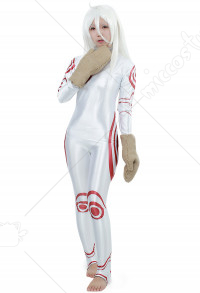 Deadman Wonderland Shiro Cosplay Costume