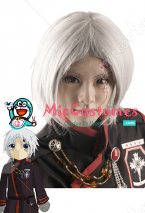 D Gray Man Allen Walker Cosplay Wig