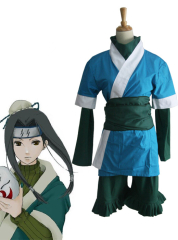 Dark Blue Naruto Haku cosplay costume
