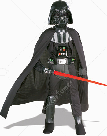Star Wars Darth Vader Child with Mask Deluxe Costume