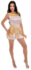 De Nile White Gold Cleopatra Costume
