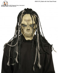 Dead Dread Mask with Hair