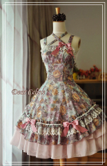 Dear Celine Oil Painting Lolita Dress