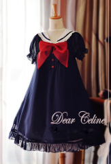 Dear Celine Sea Breeze Lolita Dress Two Colors