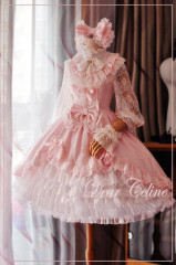 Dear Celine Cloud Wedding Lolita Dress Two Colors