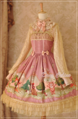 Dear Celine Forest Fairy Tail Lolita Dress