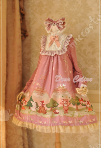 Dear Celine Forest Fairy Tail Lovely Lolita Dress