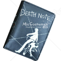 Death Note L Bifold Wallet Black