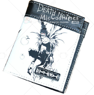 Death Note L Bifold Wallet White