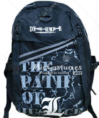 Death Note L Black Backpack