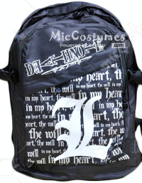 Death Note L Black School Bag
