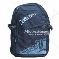 Death Note L Grey Print School Bag