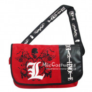 Death Note L Red Satchel