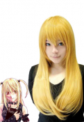 Death Note Misa Blonde Cosplay Wig