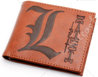 Death Note L Bifold Brown Wallet