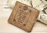 Death Note Bifold PU leather Wallet