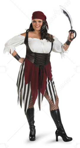 Deck Hand Darling Pirate Costume