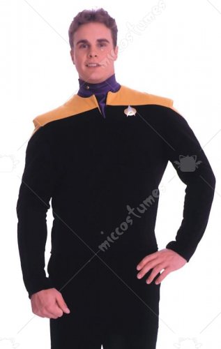 Deep Space Nine Engineer Gold Adult Costume