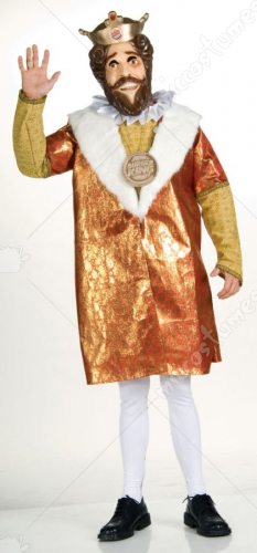 Deluxe Burger King Adult Costume