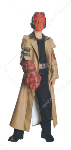 Deluxe Hellboy Child Costume