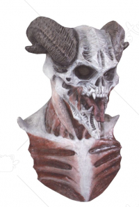 Devil Bizarre Horned Skull Mask