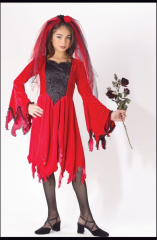 Devil Bride Red Costume