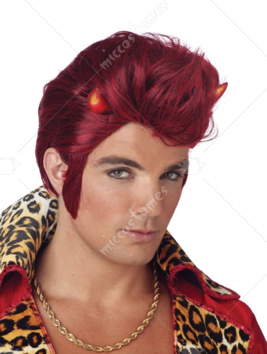 Devil Dude Lite Up Wig