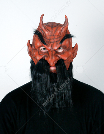 Devil Moving Jaw Mask