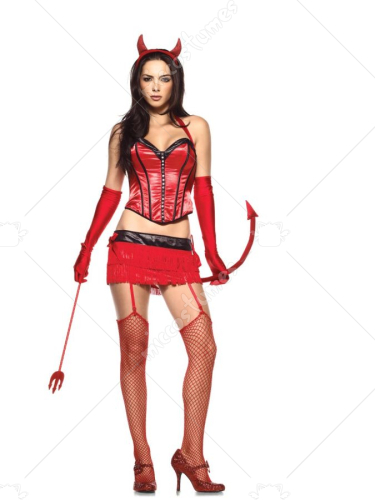 Devil Red Hot Sexy Adult Costume