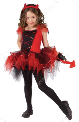 Devilina Child Costume